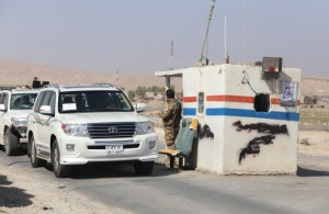 Peshmerga forces continue their progression in Mosul