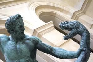 Hercules combatant Achelous